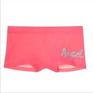 "New Victoria's Secret ""Angel"" Boyshort Panties XL"